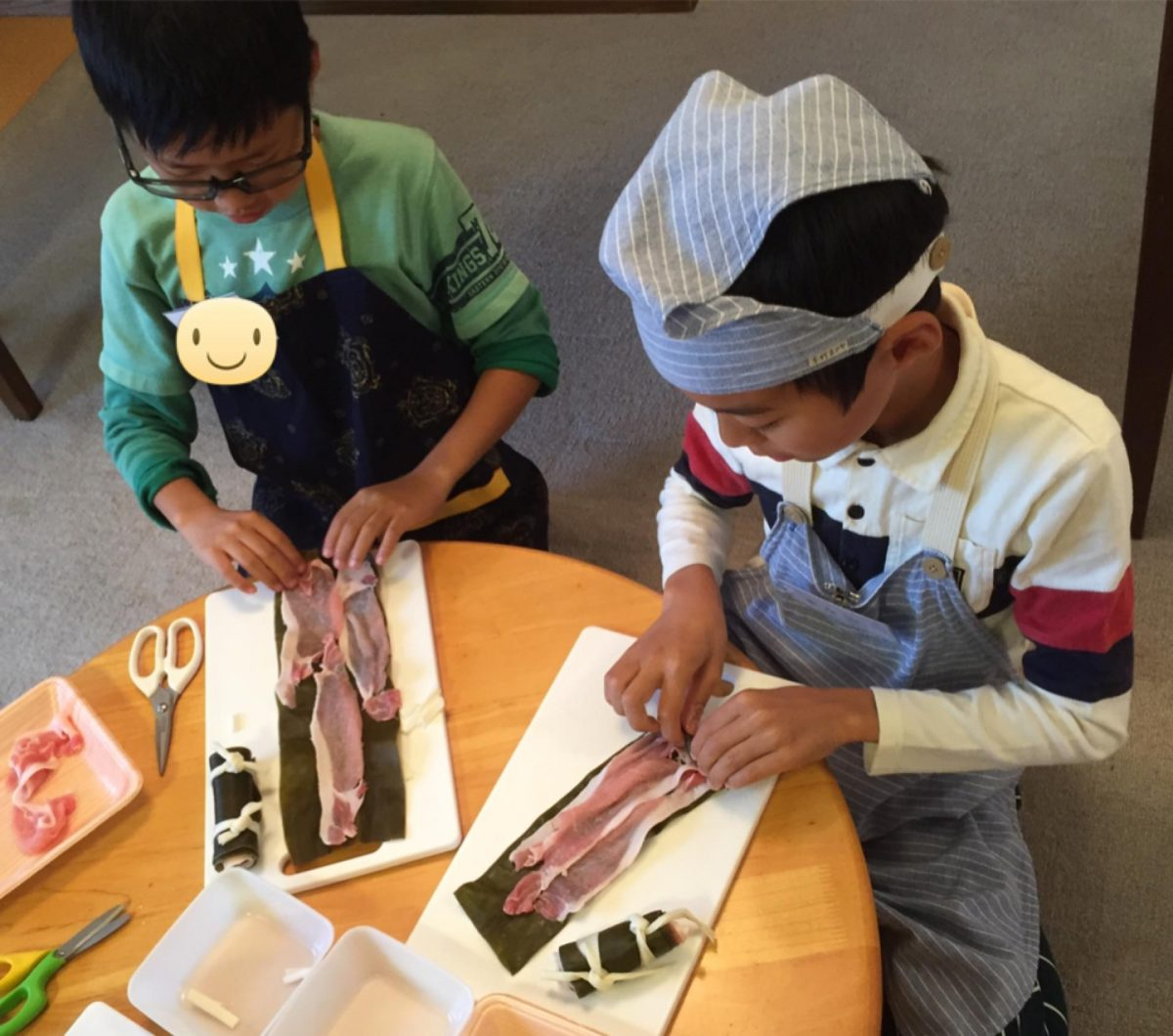 小学生のおせち料理教室