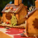 クリスマスのお菓子の家