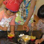 子供料理教室 キッズ・クッキング(2~3歳) 2013.10月度のレポート