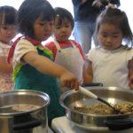 子供料理教室 キッズ・クッキング(2~3歳) 2013.5月度2回目のご報告(後半)
