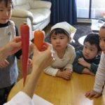 節分のクッキング:末就園児の料理教室