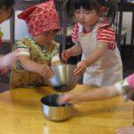 子供料理教室 キッズ・クッキング(2~3歳) 2013.6月度のご報告(前半)