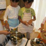 幼児料理教室 KIDS COOKING 2012.10月度のご報告