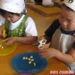幼児料理教室 KIDS COOKING 2012.7月度のご報告