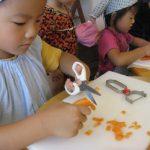 幼児料理教室 KIDS COOKING 2012.8月度2回目のご報告