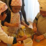 幼児料理教室 KIDS COOKING 2012.11月度 Party編のご報告